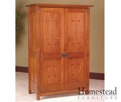 Charmant Craftsman Armoire | Post Mission Armoire The Focus On This Piece Is  Craftsmanship, Making .