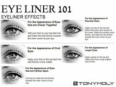 Eye Liner Effects--so useful