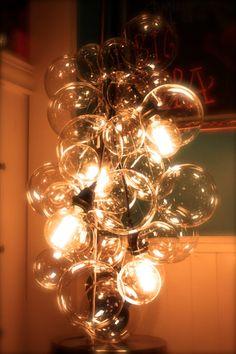 Floating Glass Bubble Chandelier Modern Elegant And Lighting On Etsy 375 00 New Dental Office Pinterest Chandeliers