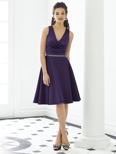 Concord grape After Six Bridesmaid Style 6647