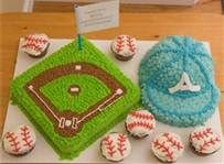 baseball themed cakes and cupcakes - Bing Images
