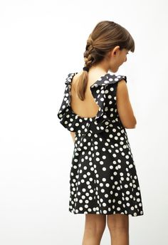 MOTORETA SS15 Pluto Dress polka dot Black #lookbook #motoreta