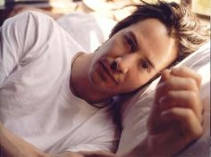 +++ time stands still best in moments that look suspiciously like ordinary life. Author Unknown +++ (chicfoo) keanu [Photo by Amanda De Cadenet]