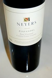 "2008 Neyers Zinfandel ""Pato Vineyard""- I had a string of really, really disappointing Zinfandel experiences so I kind of shied away for a while, but this was everything I was looking for.  This wine has that tang that I've never been able to identify other than as Zinfandel. Over-ripe blueberries, dried strawberries, sage and toasted herbs, charred marsmallow and dark, dark chocolate, coffee. Buttery midpalate. More toasted herbs and raspberry preserves in the finish. Holy crap."