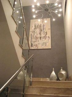 130 smart ways staircase decoration ideas make happy your family 15 Stair Landing Decor, Staircase Wall Decor, Stairway Decorating, Stair Decor, Staircase Ideas, Spiral Staircase, Hallway Ideas, Home Stairs Design, Home Room Design