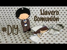 DIY: Llavero comunión - plástico mágico - YouTube
