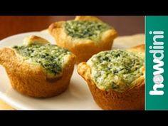 Simple quiche recipes - How to make mini quiches - YouTube