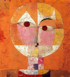 Paul Klee - Senecio (1922)