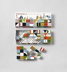 Plentimals is a new concept designed by the Dutch designer Christian Borstlap and produced by Global Affairs. Plentimals Blocks: a set of 40 wooden blocks fro