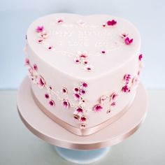 The Loveheart cake