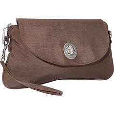 #FabricHandbags, #Handbags - baggallini Monaco Clutch Mushroom/Caspian Blue - baggallini Fabric Handbags