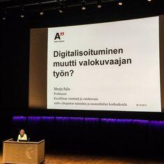 Magazine Symposium -tilaisuudessa kuulemassa lehtityön uusista tuulista. Aalto University 2015, Helsinki. Photo by Kaisa Rautio, Coriosi www.coriosi.com
