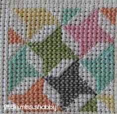 Quilty Stitches Block #6 - Friendship Star