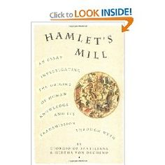 """Books:  """"Hamlet's Mill: An Essay Investigating the Origins of Human Knowledge And Its Transmission Through Myth,"""" by Giorgio de Santillana and Hertha von Dechen.  Drawing on scientific data, historical and literary sources, the authors argue that our myths are the remains of a preliterate astronomy whose power and accuracy were first suppressed, and then forgotten by an emergent Greco-Roman world view. This fascinating book is a truly seminal and original thesis well worth reading."""