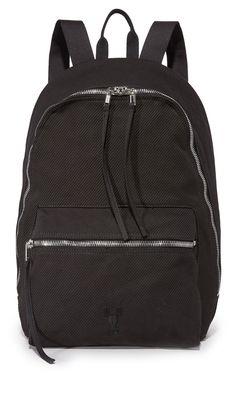 Rick Owens DRKSHDW Men's Backpack, Black, One Size