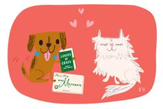 valentine's day | cat and dog