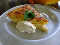 Flourless Lemon Coconut Tart