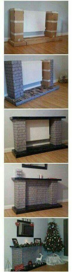 Imitación de chimeneas