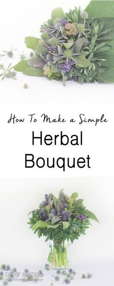 Growing herbs is easy rewarding and delicious, but did you know herbs can also be beautiful.