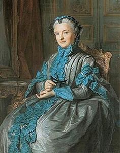 madame pompadour in later years. text in http://nobleyreal.blogspot.fr/2010/08/la-marquesa-de-pompadour.html