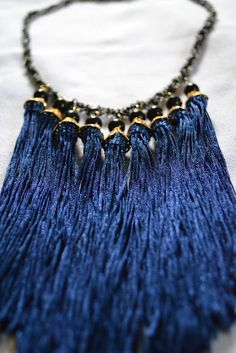 *Classy Rugged Chick: D.I.Y Fringe Necklace Tutorial.