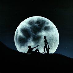 "Saatchi Online Artist Ric Nagualero; Painting, ""Eros Under A Full Moon Rising"" #art"
