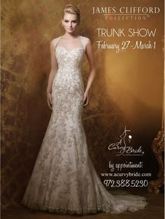Two James Clifford Collection Trunk Shows this Weekend