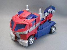 Transformers Animated Optimus Prime (Family Mart)