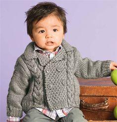 Bergere de France Double Breasted Jacket Knitting Pattern