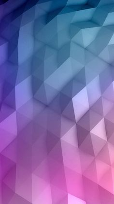 cool pink color polygon iphone image