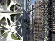 eVolo Architecture, Daekwon Park, Symbiotic Interlock, skyscraper competition, new design, architecture, sustainable design, eVolo, prefabricated housing, wind power, future architecture, Sustainable Building, daekwonpark1.jpg