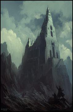 Summit by Andreas Rocha | Fantasy | 2D | CGSociety