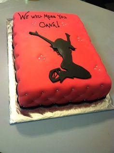 Kangoo boots cake