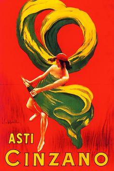 Asti Cinzano - vintage poster