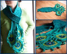 Crochet Pretty Peacock Blanket