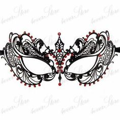 intricate masquerade mask template - Google Search