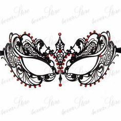 intricate masquerade mask template - Google Search