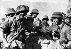 """ozzyvoice1: """" Fallschirmjäger meet up with liebstanderte division in Greece"""", pin by Paolo Marzioli"""