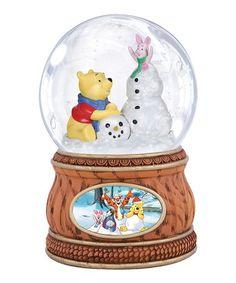 Another great find on #zulily! Pooh & Piglet Snowman Water Ball #zulilyfinds $20