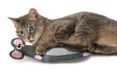 Amazon.co.jp: ペットステージ (Petstages) フェルト・マウス PTPS320: ペット用品