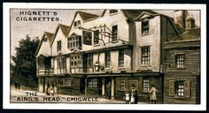Cigarette Card - The King's Head, Chigwell by cigcardpix, via Flickr