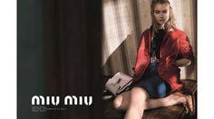 #MiuMiu Smokey Eye Best Fashion Advertisements Spring 2015
