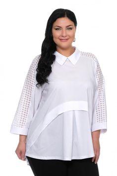 Блуза большого размера - 2