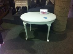Just completed two of these tables.  Both in  shabby chic white.