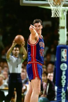 "An original ""Bad Boy"",,,, Bill Laimbeer"