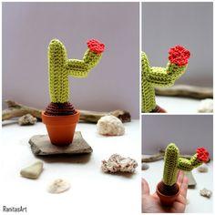 Mini Cactus from Ranitasart Etsyshop (10% discount coupon PIN10)