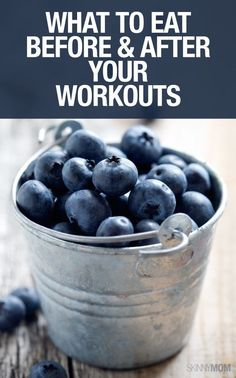 What to eat before and after a workout? Find out here.