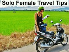 Thinking of solo travel as a female? Great tips on our blog: http://www.ytravelblog.com/female-solo-travel-tips/