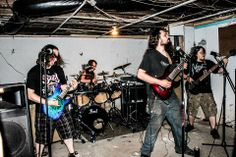 Halothane -- Melodic Death Metal, Rochester NY. Photo by Christine To.