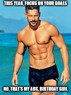 Joe Manganiello is reprising his role as Big Dick Richie in the sequel of Magic Mike XXL with Channing Tatum. Let's take a look at Joe Manganiello diet and workout: Hot Guys, Hot Men, Sexy Guys, Joe Manganiello Diet, Joe Manganiello Shirtless, Xxl Movies, Birthday Girl Meme, Happy Birthday, Muscle Hunks